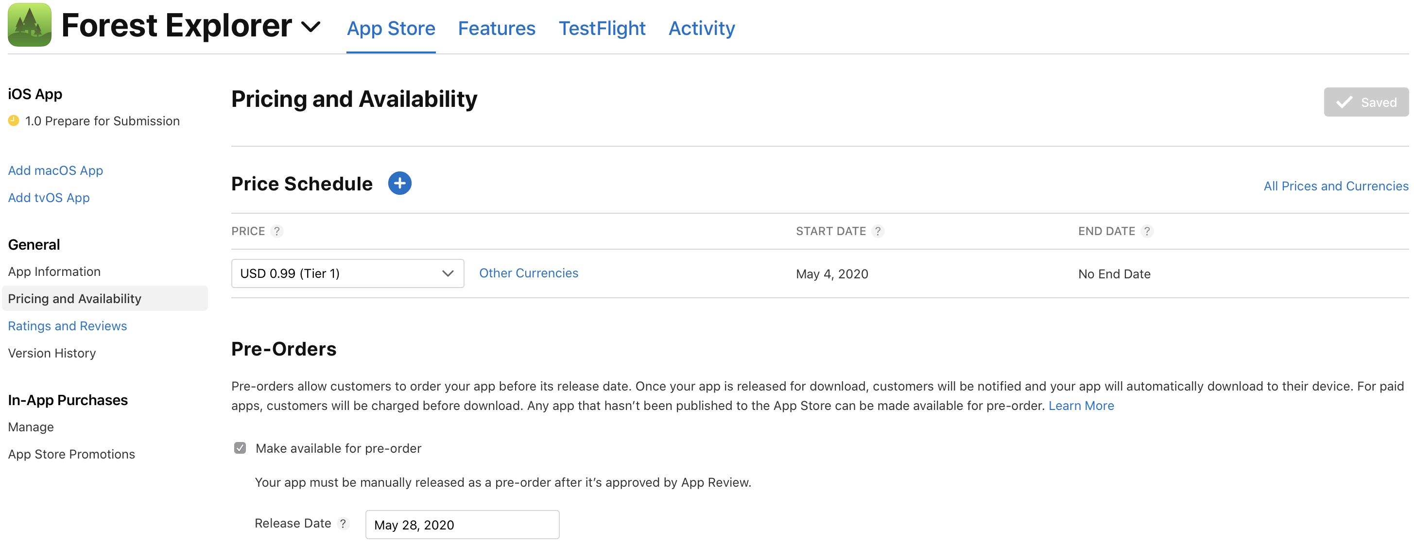 Dating app Apple Store
