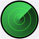 Ikona pro Hledat iPhone