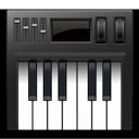 Symbol for Indstil lyd og MIDI