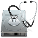 Symbol für das Festplattendienstprogramm