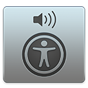 VoiceOver 유틸리티 아이콘