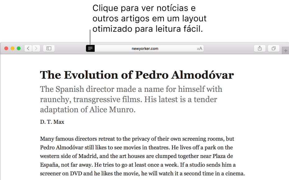 Artigo no Modo Leitor, sem anúncios e com navegação simplificada.