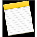 """Symbol für die App """"Notizen"""""""