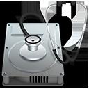 Ícone do Utilitário de Discos