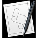 Symbol för Skriptredigerare