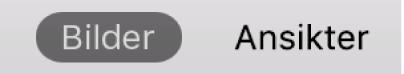 Bilder- eller Ansikter-knapper i verktøylinjen.
