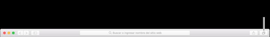 """La vista """"Todas las pestañas"""" mostrando todas las páginas web abiertas, incluidas aquellas que están abiertas en tus otros dispositivos."""