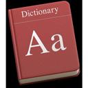 Symbol för Ordbok