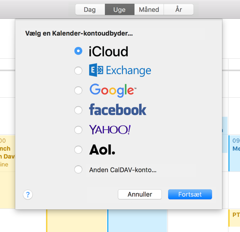 lage kalender på mac