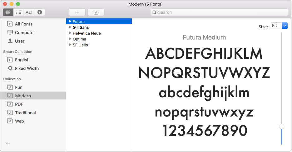 Welcome to Font Book on Mac - Apple Support