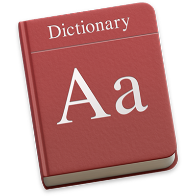 Get definitions of words in Dictionary on Mac - Apple Support
