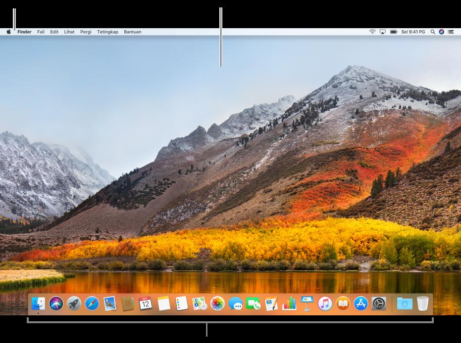 Contoh desktop.