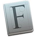 Symbol för Typsnittsbok