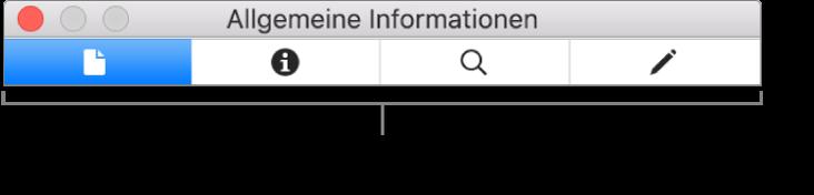 """Das Informationsfenster """"Bild""""."""