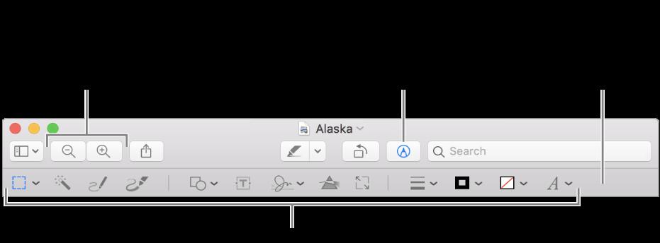 Annoter Une Image Dans Apercu Sur Mac Assistance Apple