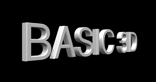 Visualiseur affichant un titre3D vu de côté