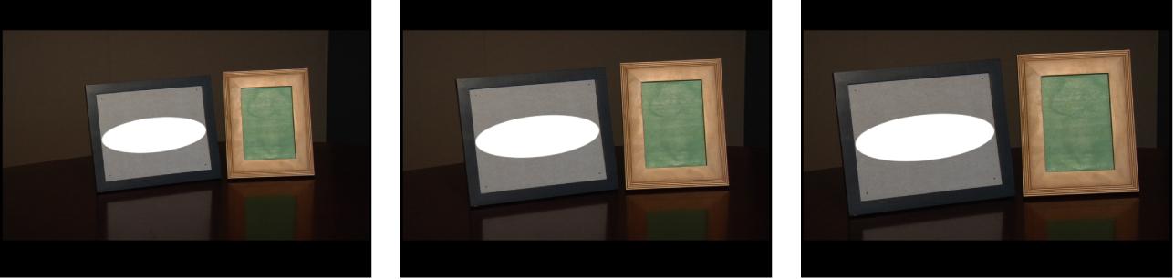 """Canvas mit einem Objekt und Tracking nach """"Position"""", """"Skalieren"""" und """"Rotation"""""""
