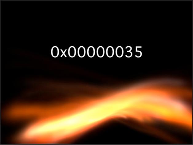 """Canvas mit dem Generator """"Zahlen"""", bei dem als Format """"Hexadezimal"""" ausgewählt wurde"""