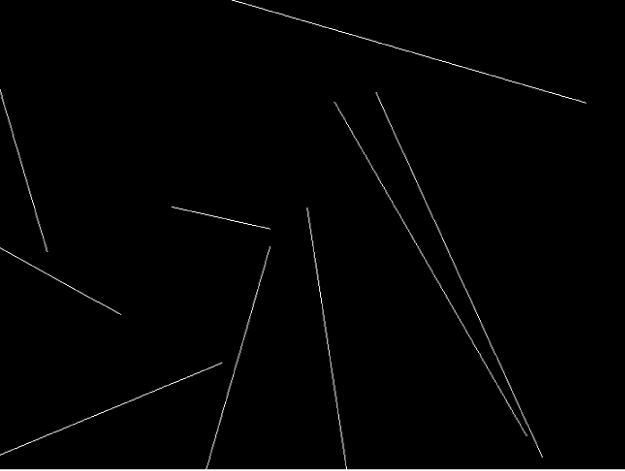 """Canvas mit einem Replikator, für den der Vorschaumodus """"Linien"""" festgelegt wurde"""