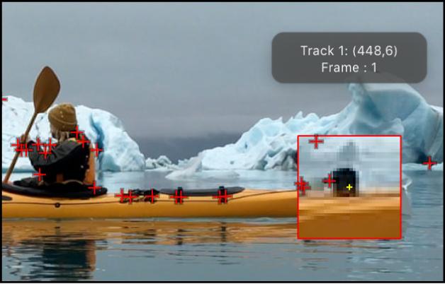 Canvas mit empfohlenen Tracking-Punkten