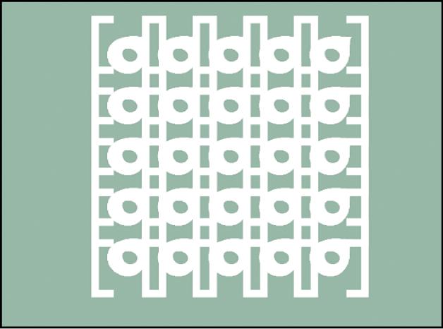 Canvas mit Replikator aus zwei Quellenebenen