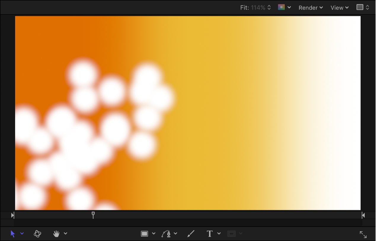 Canvas showing particle system at frame 30