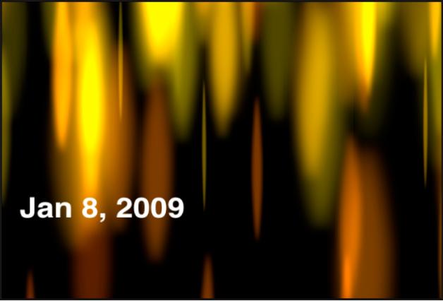Canevas affichant le générateur Heure Date indiquant uniquement la date