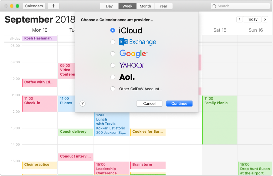 One Calendar.Welcome To Calendar On Mac Apple Support