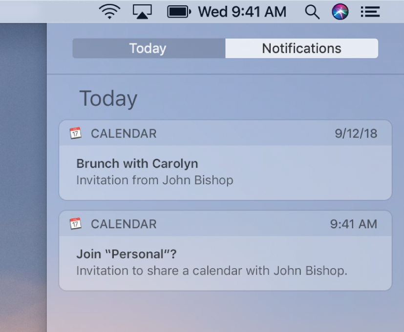 Reply to invitations in Calendar on Mac - Apple Support