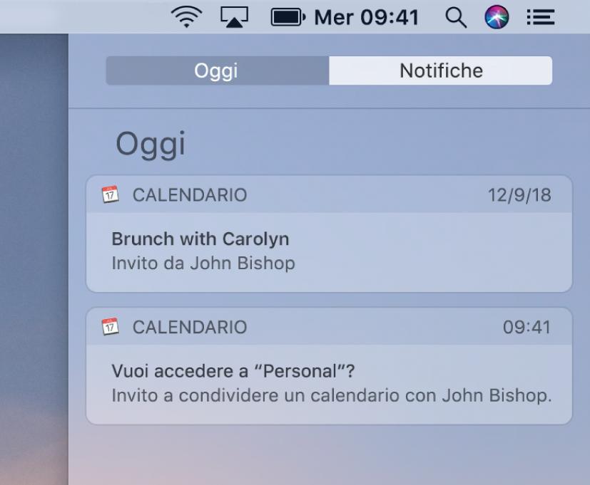 Calendario Condiviso Gmail.Rispondere Agli Inviti In Calendario Sul Mac Supporto Apple