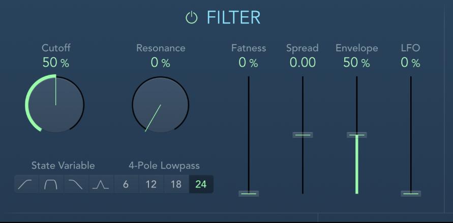 Controles de Filter de AutoFilter.