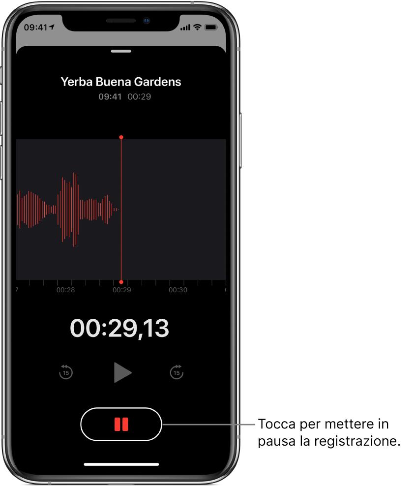 memo vocali da iphone