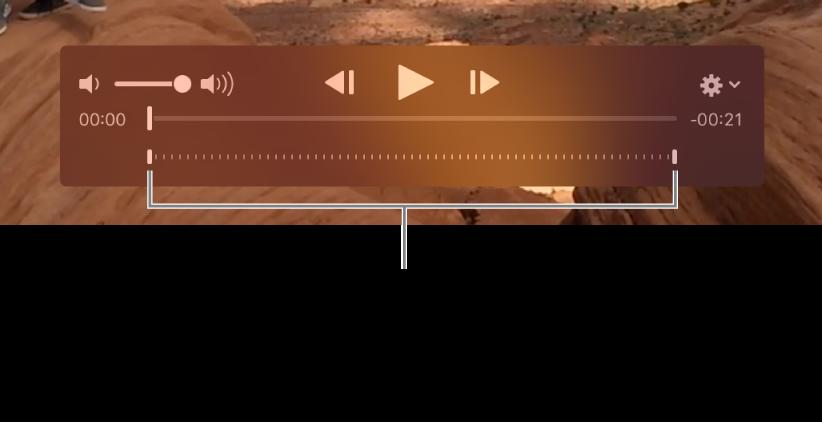 Χειριστήρια αργής κίνησης σε ένα βιντεοκλίπ.