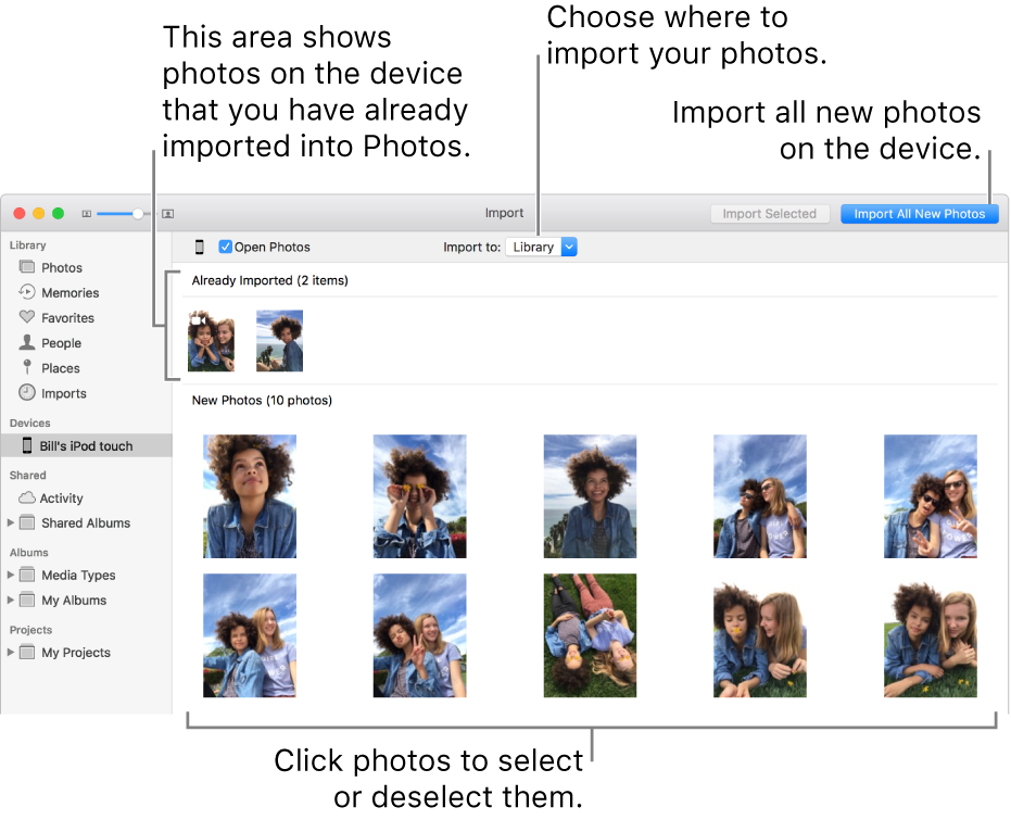 Access photos on mac without iphoto