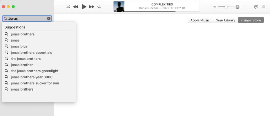 Macの「ミュージック」でウィッシュリストを作成する , Apple