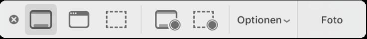 """Die Tools der App """"Bildschirmfoto"""""""