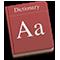 Icône de Dictionnaire