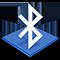 Symbool van Bluetooth-bestandsuitwisseling