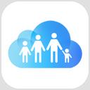 Symbool voor Delen met gezin