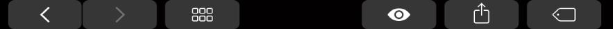 觸控列帶有 Finder 的特定按鈕,如「分享」按鈕。
