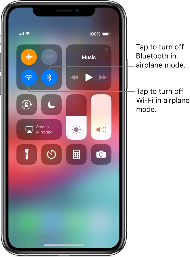 using airplane mode while traveling