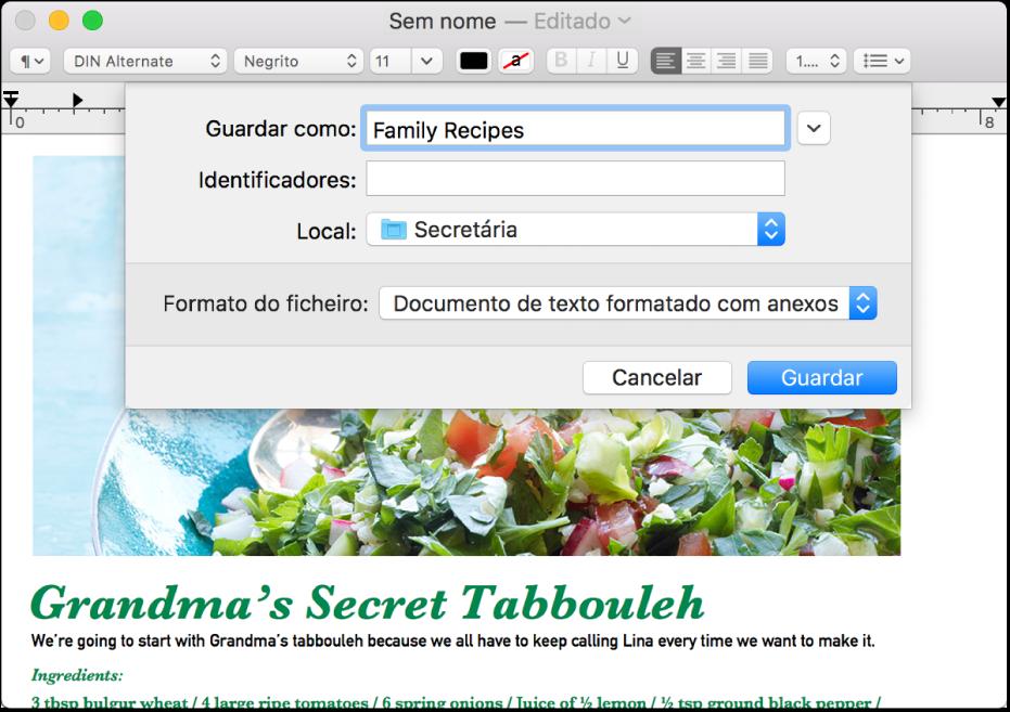 Bem‑vindos ao Editor de Texto no Mac - Suporte Apple