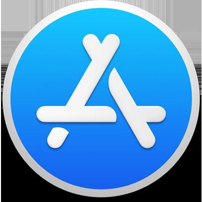 Afbeeldingsresultaat voor mac app store logo