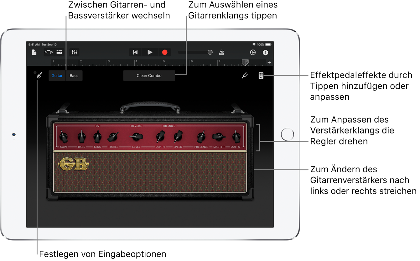 Touch-Instrument Guitar Amp