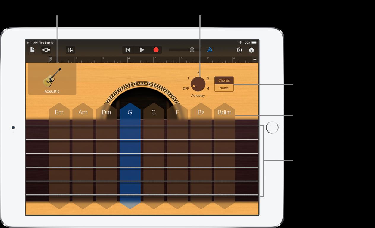 Guitar Touch Instrument