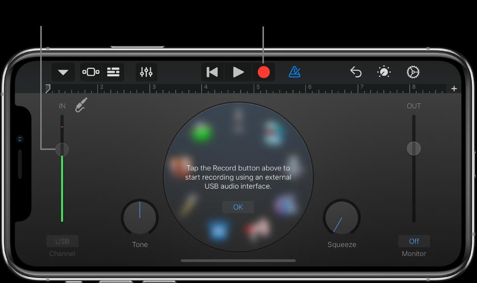Dotykový nástroj Audiorekordér
