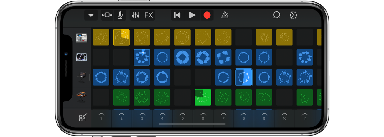 GarageBand User Guide for iPhone - Apple Support