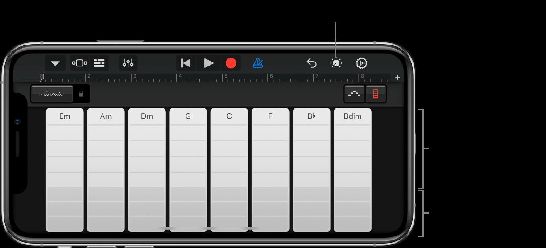 Keyboard-akkoordstroken