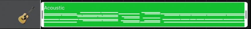 Område markert