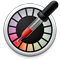 Ikona Digitální měřič barev